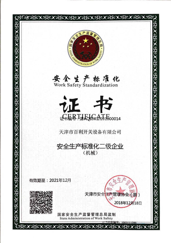 安全生产标准化证书.jpg